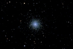M13 imaged with an NP101is refractor and a D90 DSLR camera