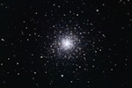 M92 - Globular Cluster in Hercules. Taken with a CFF 132 refractor telescope and an STF-8300M camera