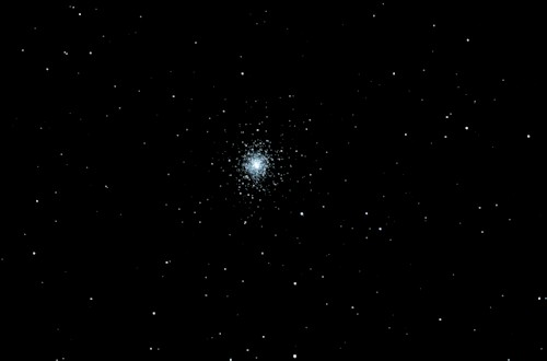 M92 - Globular Cluster in Hercules. Taken with a C8 SCT telescope and a D90 DSLR camera