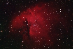 NGC 281 - The Pacman Nebula. Imaged with a CFF 132 refractor and an STF8300M CCD camera