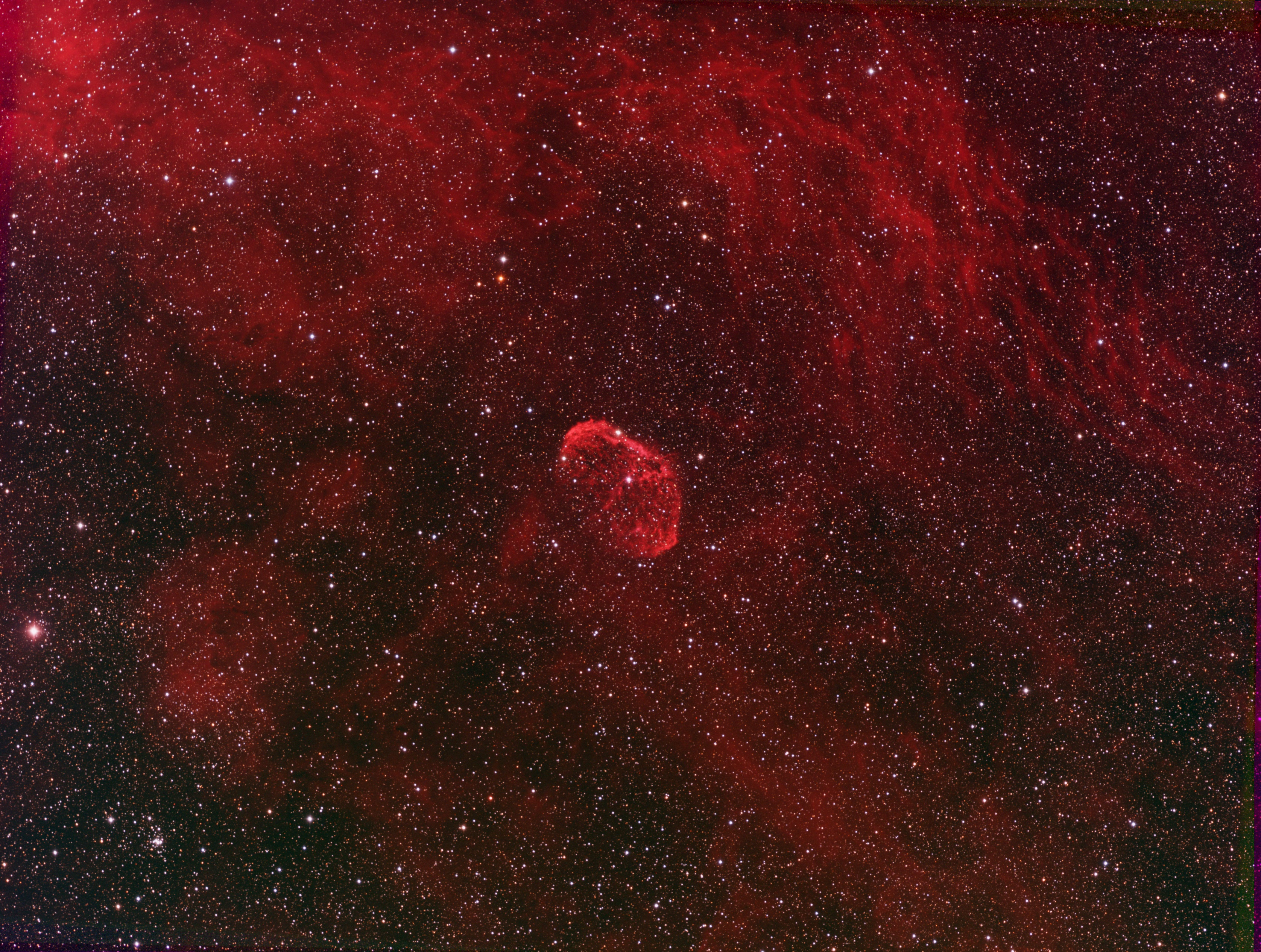 NGC 6888 - The Crescent Nebula