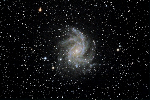 First galaxy image from the 11 inch SCT